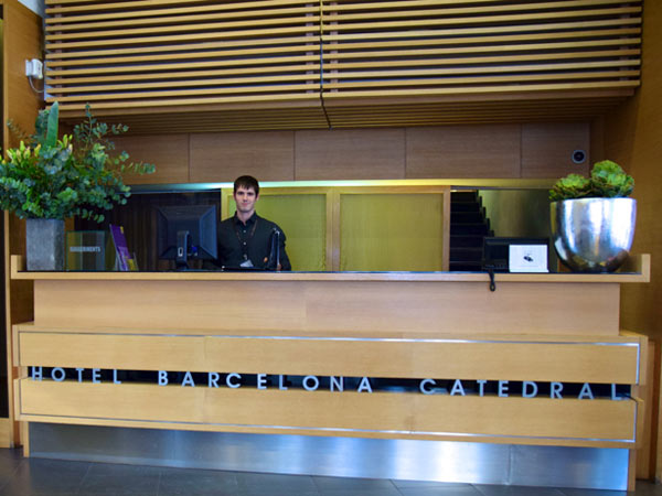 Een hotel in Barcelona