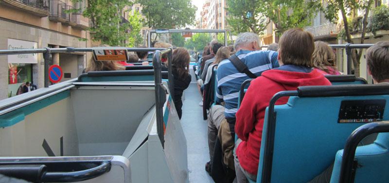 bus turistic bovendek
