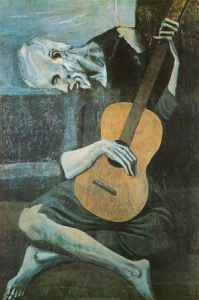 Pablo Picasso The old guitarist