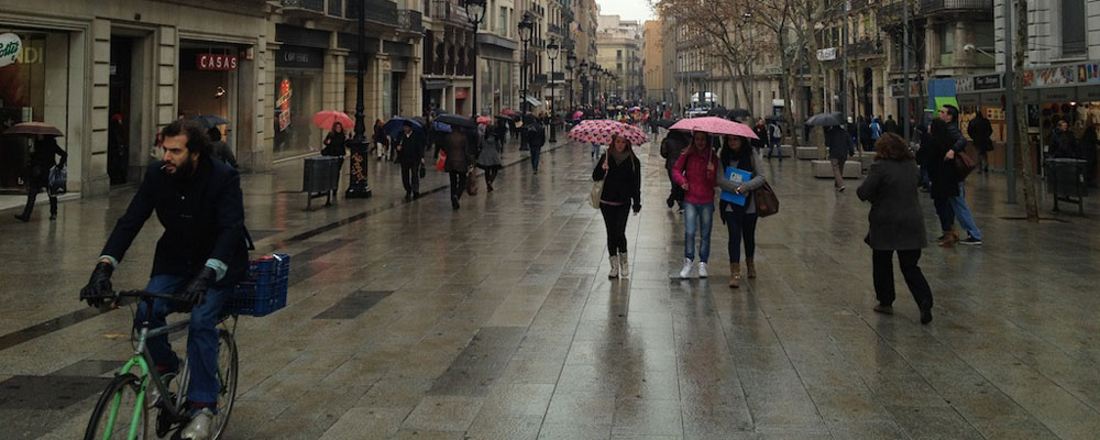 het weer in barcelona in november