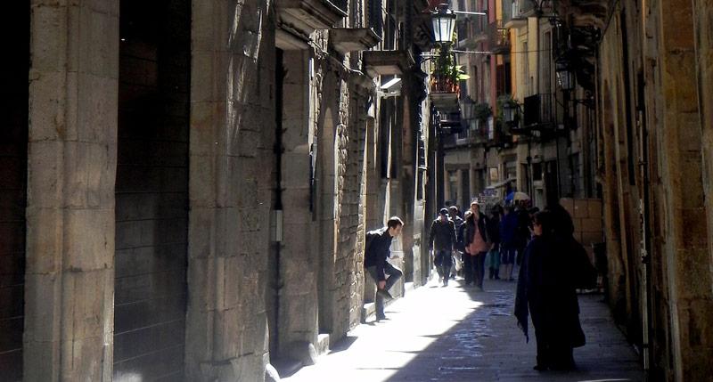 gotische wijk barcelona