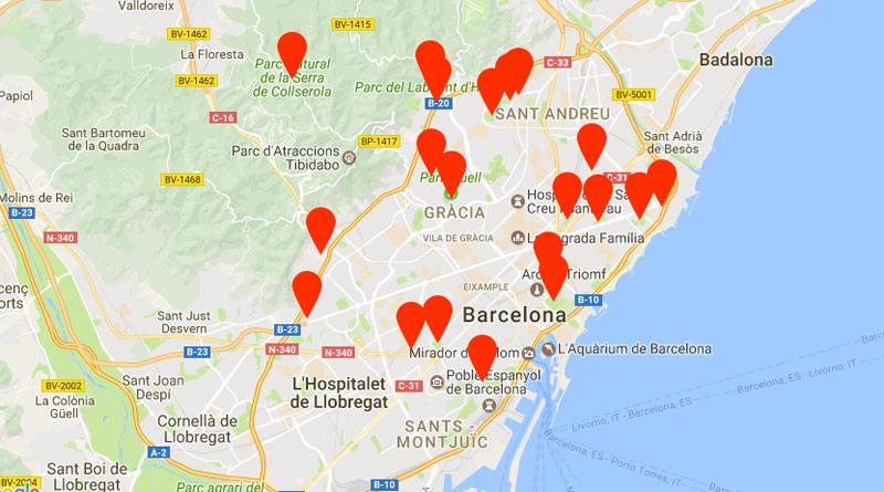 parken in barcelona