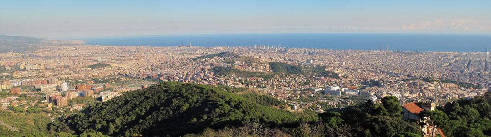 barcelona uitzicht